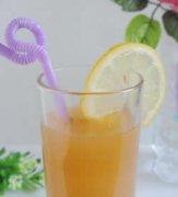 苹果柠檬汁的做法